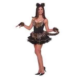 Feline Fantasy Leopard Dress Adult Costume Size Standard