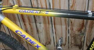 Vintage 1993 Giant Cadex CFM 2 Mountain Bike Rock Shox