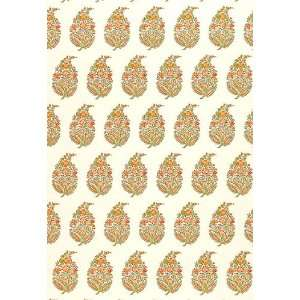 Paisley Persimmon by F Schumacher Wallpaper Home Improvement