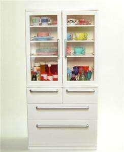 Re ment dollhouse miniature White Cabinet Cupboard.