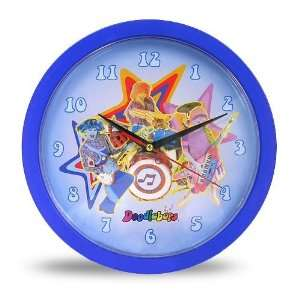 Doodlebops 10 Inch Wall Clock: Home & Kitchen