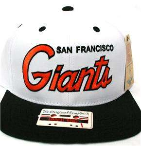 OLD SCHOOL American Needle San Francisco Giants Snapback Hat Cap SICK