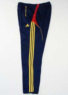 Adidas ClimaCool MLS Real Salt Lake Navy Blue Soccer Track Pants Mens