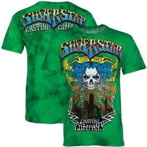 Silver Star Green Electric Guida 117 Walkout T shirt