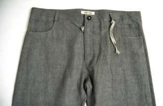 DAMIR DOMA Gray Linen Dress PANTS 52 NWOT