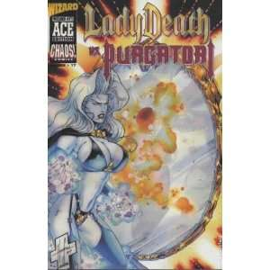Lady Death vs. Purgatori (1997) Wizard Ace Edition comic