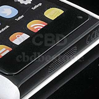 Hard Rubber Case Cover Coating For NOKIA N9 White