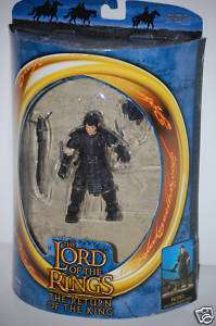 Frodo Goblin Lord of the Rings ROTK Toy Biz figure MIB