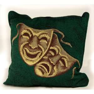 Deluxe Home Theater Green Mask Pillow Home & Kitchen