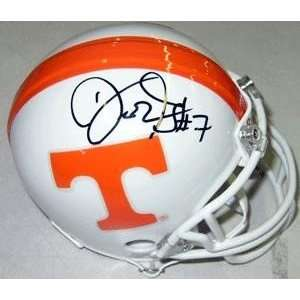 Deon Grant Autographed/Hand Signed Tennessee Vols Mini