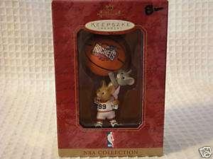 Hallmark Keepsake/1999 Rockets NBA Basketball/NIB