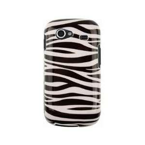 Hard ABS PlasticDesign Black and White Zebra Design Phone