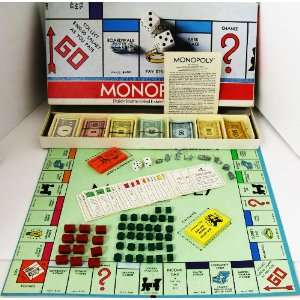 VINTAGE MONOPOLY GAME ~ BOARD GAME 1973: Everything Else