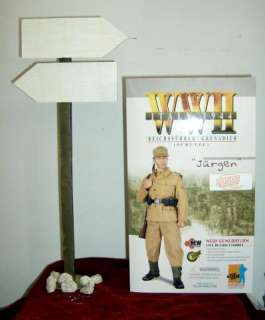 Dragon WWII 1/6 German Grenadier Jurgen With Road Sign