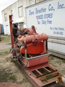 Transfer Water Pump, Detroit Diesel Engine