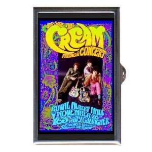 CREAM ERIC CLAPTON SHOW POSTER Coin, Mint or Pill Box