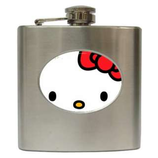 Hello Kitty Stainless Steel Hip Flask 6 oz Hot New