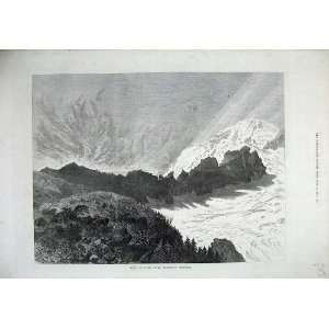 1872 Summit Mount Baker Washington Territory Fine Art