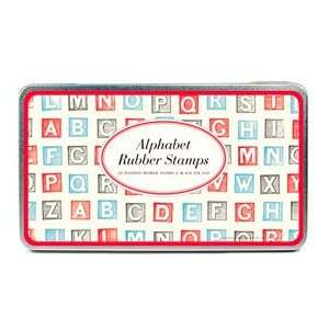 Cavallini & Co. Alphabet (Blocks) Stamp Set    includes 26