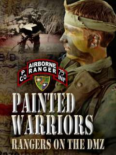 PAINTED WARRIORS Army Rangers DMZ Vietnam War DVD Video