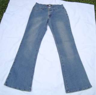 Rave R4R Low Rise Stretch Flare Jeans Size 9 Pre Owned