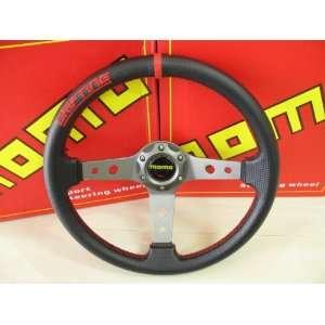 Momo Drifting Black Red Steering Wheel 330 Mm Everything