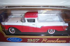 1957 Ford Ranchero. Die Cast Car. 118 scale. Road Legends