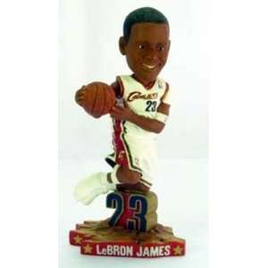 LeBron James Cleveland Cavaliers Home #23 Action dunking Pose Bobble