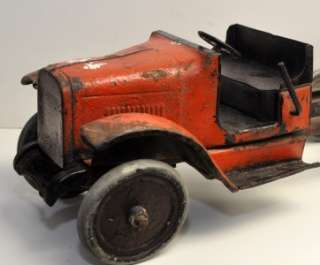 Antique Vintage Buddy L Dump Truck 1920s 24 inch Steel Truck RARE