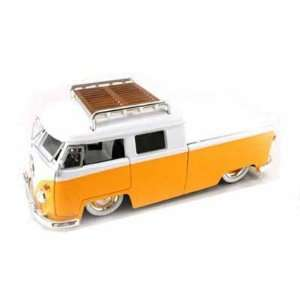 Pickup w/Luggage Rack V DUBS 1/24 (Mass) Yellow / White: Toys & Games
