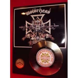 MOTORHEAD GOLD RECORD LIMITED EDITION DISPLAY Everything