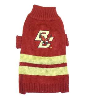 Boston College Eagles NCAA Sweater for Dogs