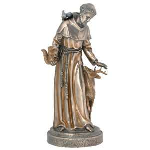 Large Stain St. Francis Statue Figurine Decoration