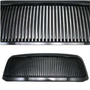 05 07 FORD F250 / F350 SUPER DUTY VERTICAL GRILLE BLACK