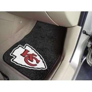 Kansas City Chiefs Carpet Car/Truck/Auto Floor Mats