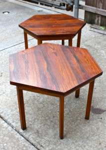 Paul McCobb Delineator Lane Rosewood Side Tables Mid Century Modern