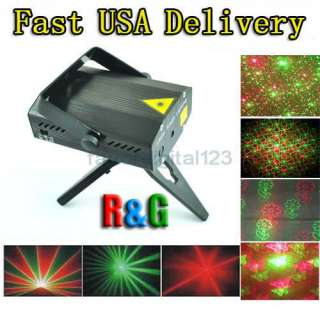 Minute Adjustment Mini Laser Stage Disco Party DJ Light