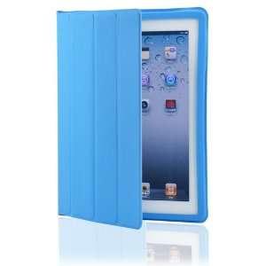 Light Blue Magnetic Smart Slim Full Body Cover for Apple