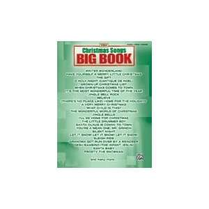 Publishing 00 28069 The Christmas Songs Big Book Musical Instruments
