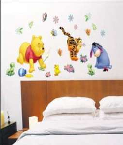 WALL DECOR MURAL STICKER KID Winnie the Pooh DISNEY FR
