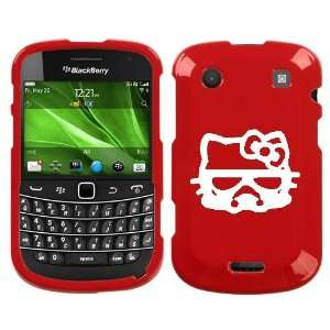 BLACKBERRY BOLD 9930 WHITE HELLO KITTY STORMTROOPER ON RED