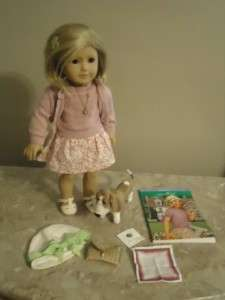 PLEASANT CO AMERICAN GIRL DOLL KIT BOOK & ACCESSORIES GRACE HOUND DOG