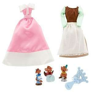 Princess Cinderella Doll Wardrobe and Friends Set