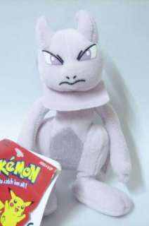 NEW Pokemon pokedoll figure plush stuffed doll soft toy #150 MEWTWO