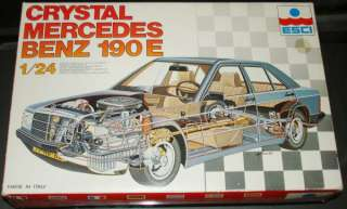 ESCI 124 Crystal Mercedes Benz 190 E #3050