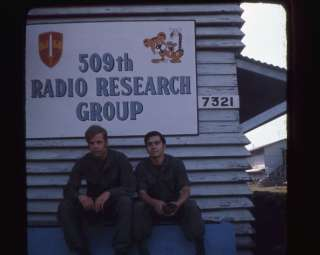 Vietnam Army Security Agency Pleiku GI 35mm Slides 330th Det 8 Radio