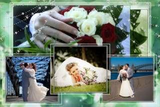 HERMOSAS PLANTILLAS Photoshop de la FOTO PSD de la BODA en DVD