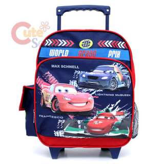 Cars Mcqueen School Roller Backpack/Rolling Bag SM 12