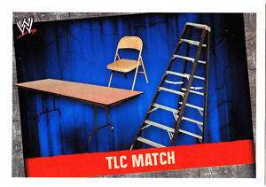 WWE Slam Attax Evolution TLC Match Type Card