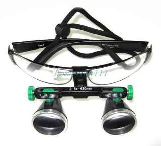 Medical Dental Optical 2.5X 420 Loupes Soft Touch Frame